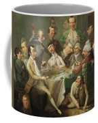 A Caricature Group Coffee Mug