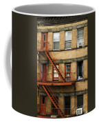 Fire Escapes - Nyc Coffee Mug