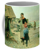 Fisherfolk Returning With Their Nets Coffee Mug