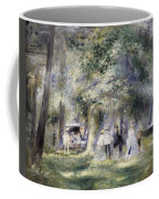 In The Park At Saint-cloud Coffee Mug
