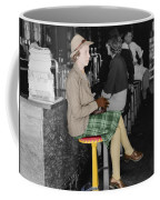 Lady In A Diner Coffee Mug by Andrew Fare