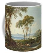 Landscape With Harlech Castle Coffee Mug