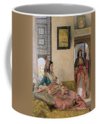 Life In The Harem - Cairo Coffee Mug by John Frederick Lewis
