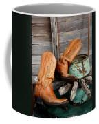Old Cowboy Boots Coffee Mug