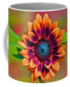 Orange Flowers In Their Buttonholes Coffee Mug