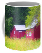 Peaceful Country Barn And Meadow Coffee Mug