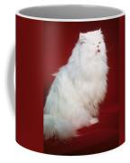 Persian Cat In Distress Coffee Mug