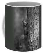 Red Squirrel In Bw Coffee Mug