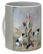 Richard Prince With Damon - The Late Colonel Mellish's Pointer Coffee Mug