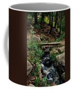 Stream In Tall Pines Coffee Mug