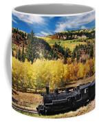 Train At Chama Coffee Mug