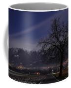 Tree And Snow-capped Mountain Coffee Mug