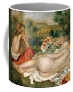 Two Bathers Coffee Mug