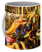 Wild Carrousel Horses  Coffee Mug