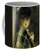 Young Woman With A Small Veil Coffee Mug