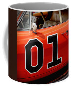 01 - The General Lee 1969 Dodge Charger Coffee Mug