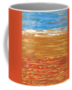 0145 Abstract Landscape Coffee Mug