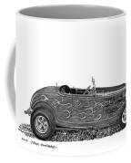 1932 Ford Hi Boy Hot Rod Coffee Mug