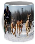 2011 Limited North American Sled Dog Race Coffee Mug