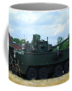 A Belgian Army Piranha IIic Coffee Mug by Luc De Jaeger