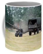 A Belgian Artillery Unit Setting Coffee Mug by Luc De Jaeger