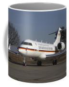 A Bombardier Global 5000 Vip Jet Coffee Mug