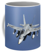 A Cf-188a Hornet Of The Royal Canadian Coffee Mug