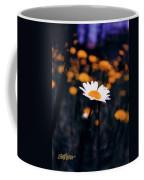 A Daisy Alone Coffee Mug