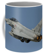 A Eurofighter F-2000 Of The Italian Air Coffee Mug