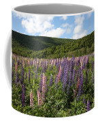 A Field Of Lupins Coffee Mug