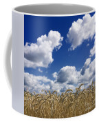 A Field Of Wheat Auvergne. France Coffee Mug