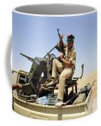 A Free Libyan Army Pickup Truck Coffee Mug