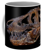 A Genuine Fossilized Skull Of A T. Rex Coffee Mug