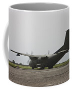 A German Air Force Transall C-160 Taxis Coffee Mug