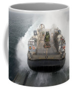 A Landing Craft Air Cushion Enters Coffee Mug