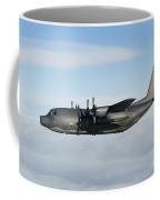 A Mc-130p Combat Shadow In Flight Coffee Mug