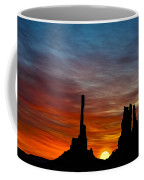 A New Day At The Totem Poles Coffee Mug
