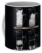 A Pitcher Of Ice Melts Over 4 Hours Coffee Mug