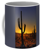 A Saguaro Sunrise  Coffee Mug