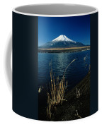 A Scenic View Of Mount Fuji Taken Coffee Mug