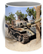 A T-72 Tank Destroyed By Nato Forces Coffee Mug