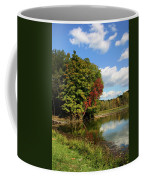 A Touch Of Autumn Coffee Mug by Kristin Elmquist