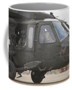 A Uh-60 Black Hawk Taxis Coffee Mug