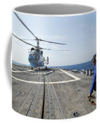 A Ukrainian Navy Ka-27 Helix Helicopter Coffee Mug