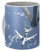 A U.s. Air Force E-3 Sentry Airborne Coffee Mug