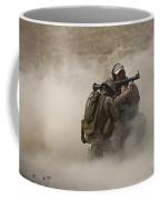 A U.s. Contractor Fires Coffee Mug