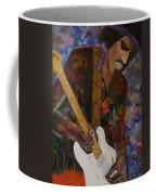 Abstract Jimi Hendrix Coffee Mug