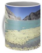 Acidic Crater Lake, Kawah Ijen Volcano Coffee Mug