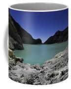 Acidic Crater Lake On Kawah Ijen Coffee Mug