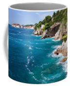 Adriatic Sea Coastline Coffee Mug
